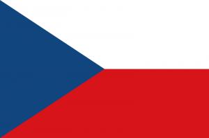 Flagge Tschechoslowakei